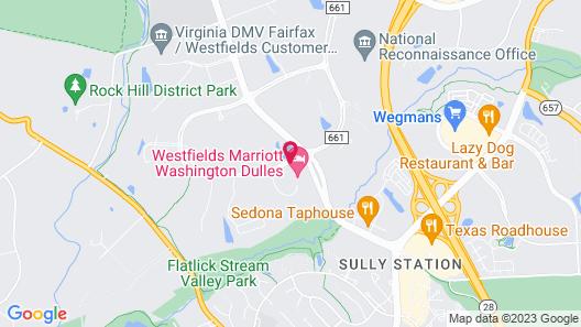 Westfields Marriott Washington Dulles Map