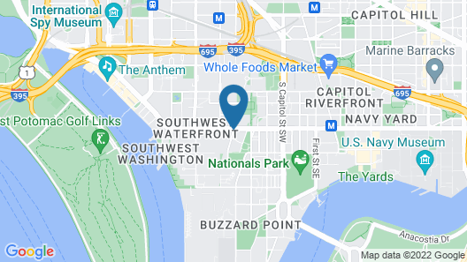 Capitol Hill Fully Furnished Apartments, Sleeps 5-6 Guests Map