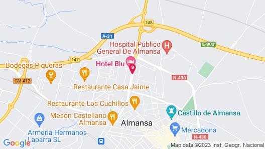 Elegance Almansa Map