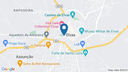 Hotel São João de Deus Map