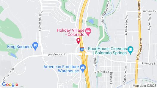 Best Western Plus Executive Residency Fillmore Inn Map