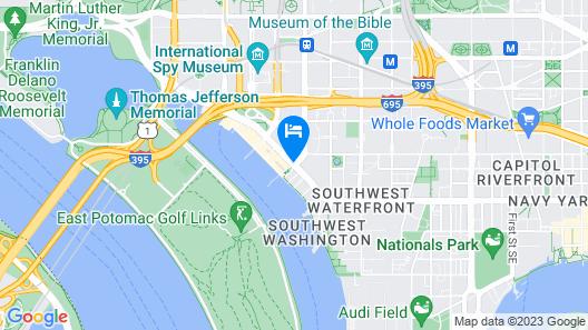 Canopy by Hilton Washington DC The Wharf Map