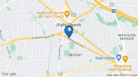 Sonesta Simply Suites Falls Church Map