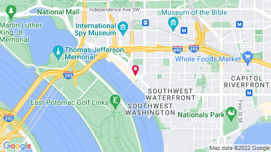 Hyatt House Washington DC/The Wharf Map