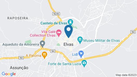 Travassos 11 Map