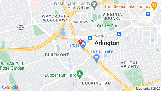 The Westin Arlington Gateway Map