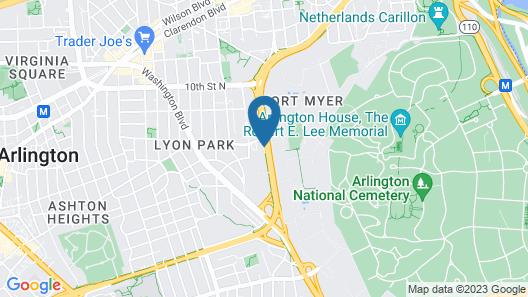 Days Inn by Wyndham Arlington/Washington DC Map