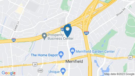 Courtyard by Marriott Dunn Loring Fairfax Map