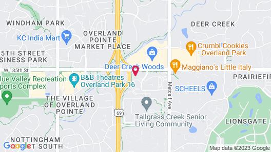 Hampton Inn & Suites Overland Park South Map