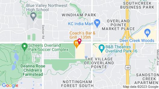 My Place Hotel-Overland Park, KS Map