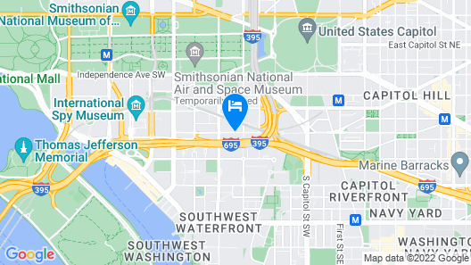 Residence Inn Washington, DC /Capitol Map