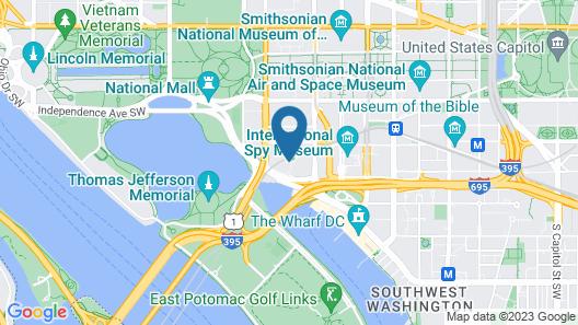 Mandarin Oriental, Washington D.C. Map