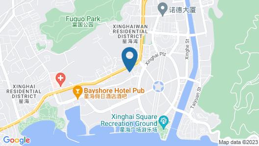 Xinghai Haiyue Bay Suites Apartment Map