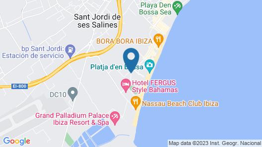 Hard Rock Hotel Ibiza Map