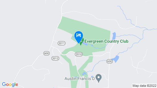 Inn at Evergreen Map