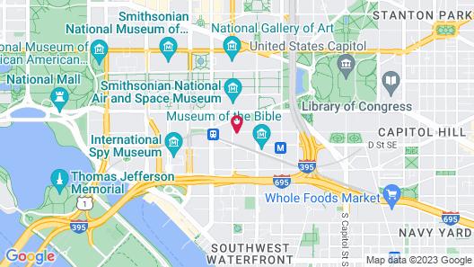 Holiday Inn Washington Capitol - Natl Mall, an IHG Hotel Map