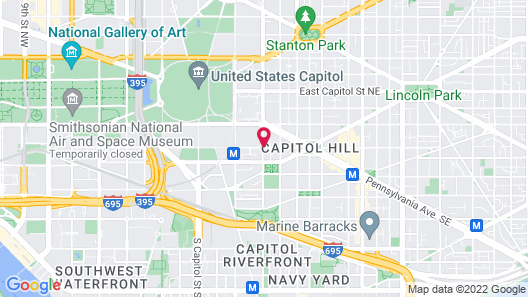 Capitol Hill Hotel Map
