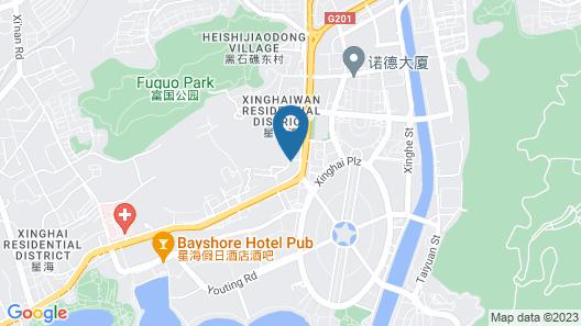 Dalian Xinghai Huayi Apart-hotel Map
