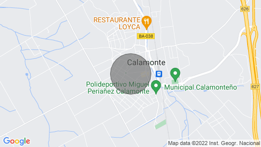 House 2 Bedrooms Center of Extremadura Map
