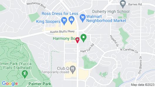 Sonesta ES Suites Colorado Springs Map