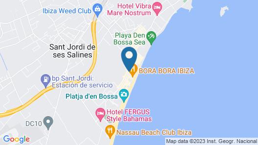 Apartamentos Bora Bora Map