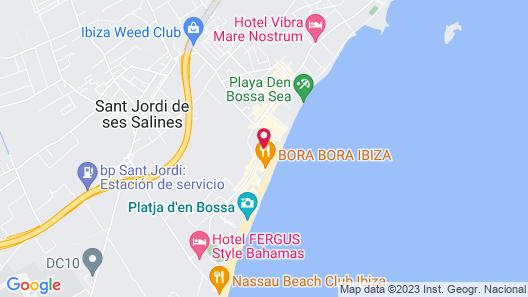 Ibiza JET Apartamentos - Adults Only Map
