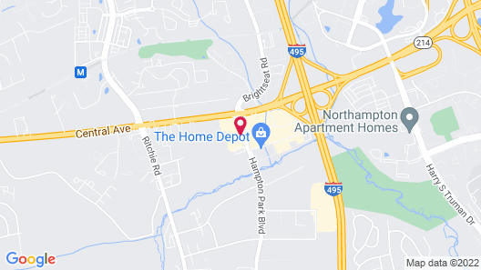 La Quinta Inn & Suites by Wyndham DC Metro Capital Beltway Map