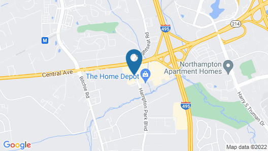 La Quinta Inn & Suites by Wyndham DC Metro Capital Beltway Map