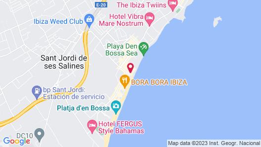 Apartamentos Sal Rossa Map