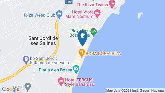 Migjorn Ibiza Suites & Spa Map