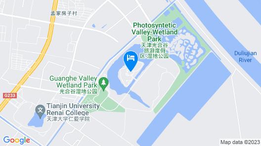 Tianjin Guanghegu Hot Spring Holiday Hotel Map