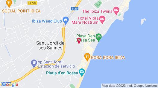 Ebano Hotel Apartments & Spa Map