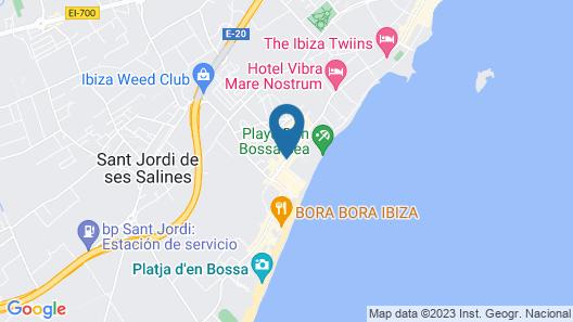 Hotel Garbi Ibiza & Spa Map