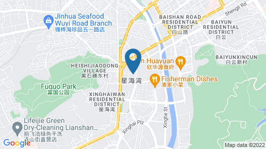Dalian Xinghai Kaitai Hotel Apartment Map