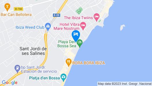 Hotel Playasol The New Algarb Map