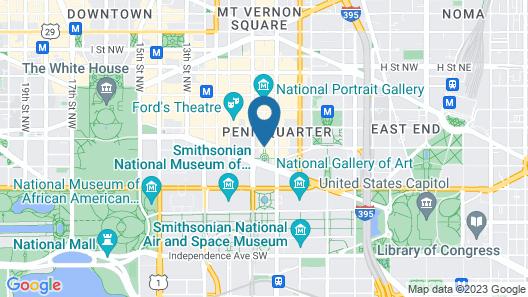 Heaven on Washington Furnished Apartments Map