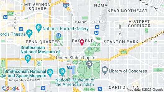 YOTEL Washington DC formally Liaison Map