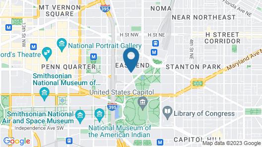 YOTEL Washington DC Map