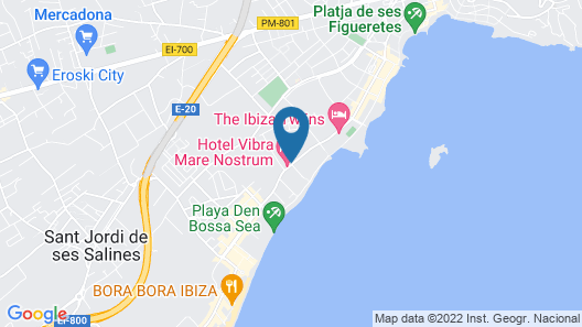 Hotel Playasol Mare Nostrum Map
