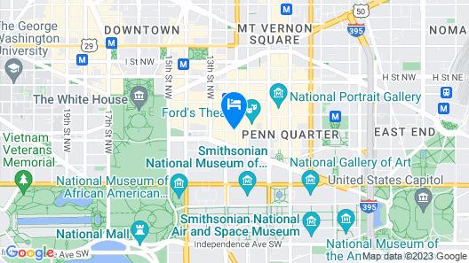 Hotel Harrington Map