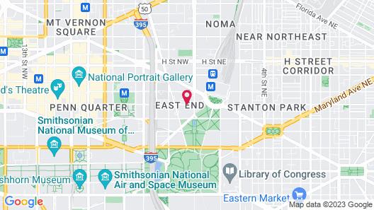 Kimpton George Hotel Map