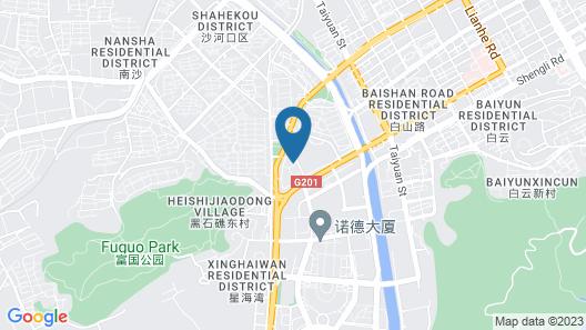Dalian Tinghai Holiday Apartment Map