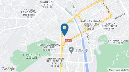 Dalian Jiujiuyuan Apartment Hotel Map