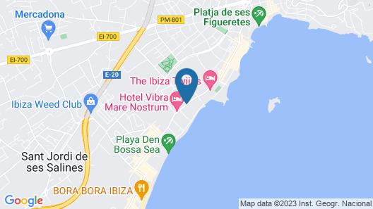 Fiesta Hotel Playa D En Bossa Map