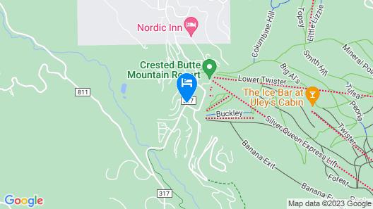 WoodCreek  - 1 Br Condo Map