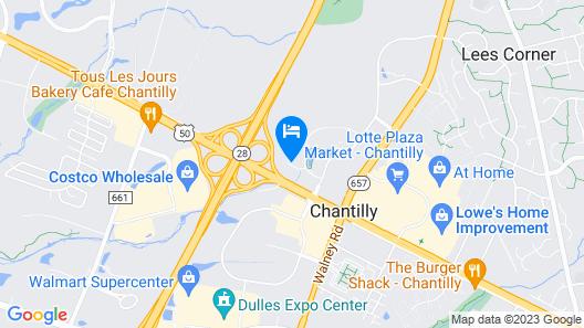 Fairfield Inn & Suites Dulles Airport Chantilly Map