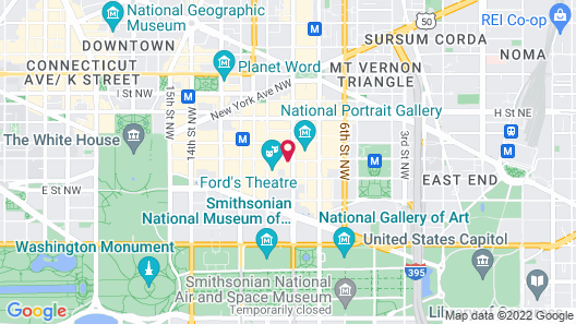 Riggs Washington DC Map