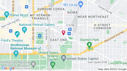 Phoenix Park Hotel Map