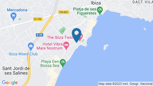 The Ibiza Twiins Map