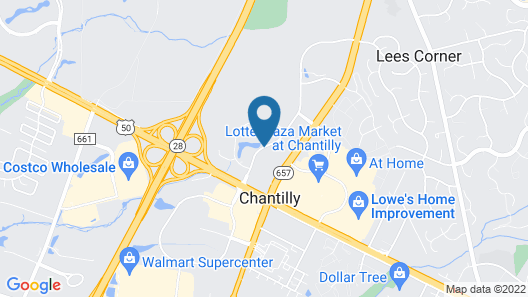Wingate by Wyndham Chantilly / Dulles Airport Map